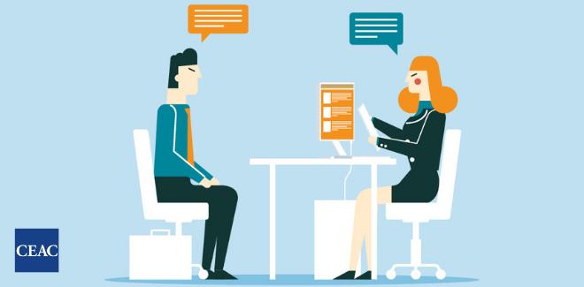 Consejos para una entrevista de trabajo - CEAC Empleo